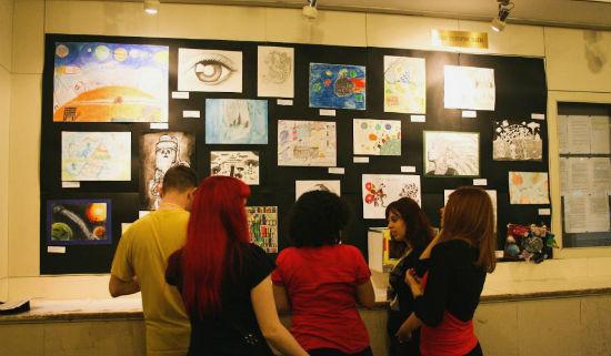 Izložba nagrađenih dječjih radova na SFeraKonu 2013.