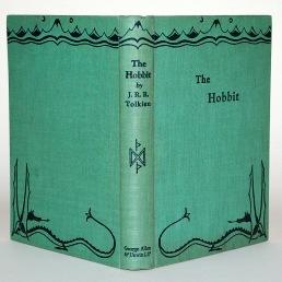 Prvo izdanje Hobbita iz 1937.