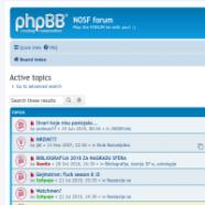 NOSF-ov forum preseljen na SFerin sajt